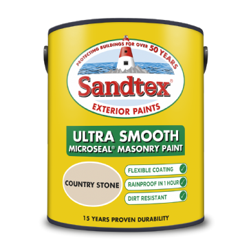 Sandtex 5L Country Stone smooth masonry paint
